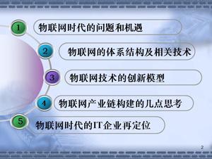 物联网产业链构建的几点思考.ppt课件下载 物联网时代 中国