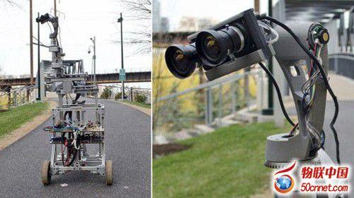 我是你的眼:虚拟现实技术结合机器人