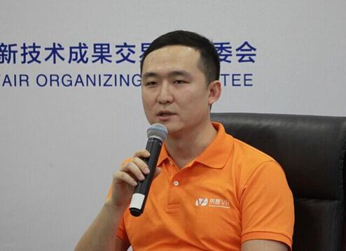 (图5:深圳易晨VR联合创始人、产品总监刘子瞻)