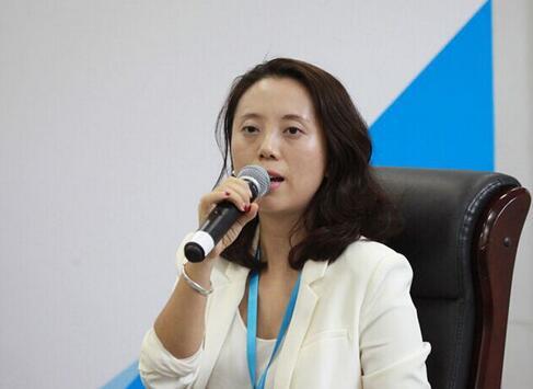 (图6:深圳3Glasses虚拟现实科技有限公司创始人兼CEO王洁)