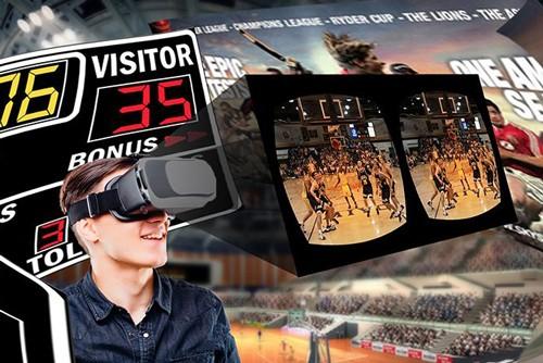 CBA首次引入立体VR技术 开启VR+体育新时代
