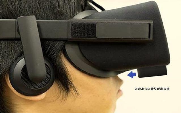 日本厂商脑洞大开升级 推出一款嗅觉VR外设