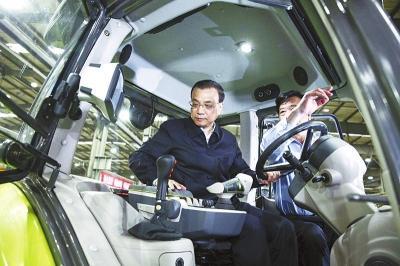 李克强:中国制造2025需要大马力发动机