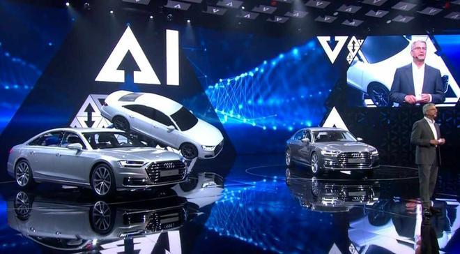 7月11日,奥迪品牌峰会暨A8发布会在西班牙巴塞罗那举行,奥迪官方首次向全球展示了在向高端数字汽车公司转型道路上的技术创新成果。 奥迪在现场展示了数字时代个人交通的新概念,涉及可持续发展、轻型建造、互联、自动驾驶以及数字化服务等主题。 在多达70款旗下产品的介绍中,新款奥迪A8是重中之重。这款奥迪旗舰汽车进化到第四代,采用全新的设计语言和先进的车载技术,装配一套由48V电气系统和发动机组成的轻混动系统,该系统相比乘用车常用的12V系统能够更加节能并且高效。  奥迪市场销售董事冯德睿博士表示,奥迪A8是世